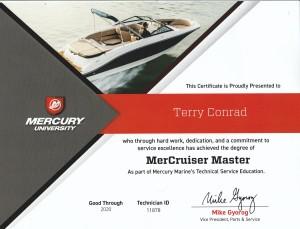 Mercruiser Master